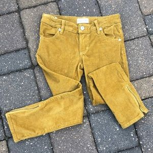 Persnickety corduroy pants